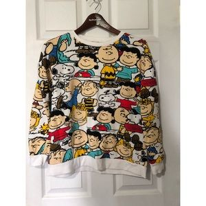 Peanuts Gang Pullover